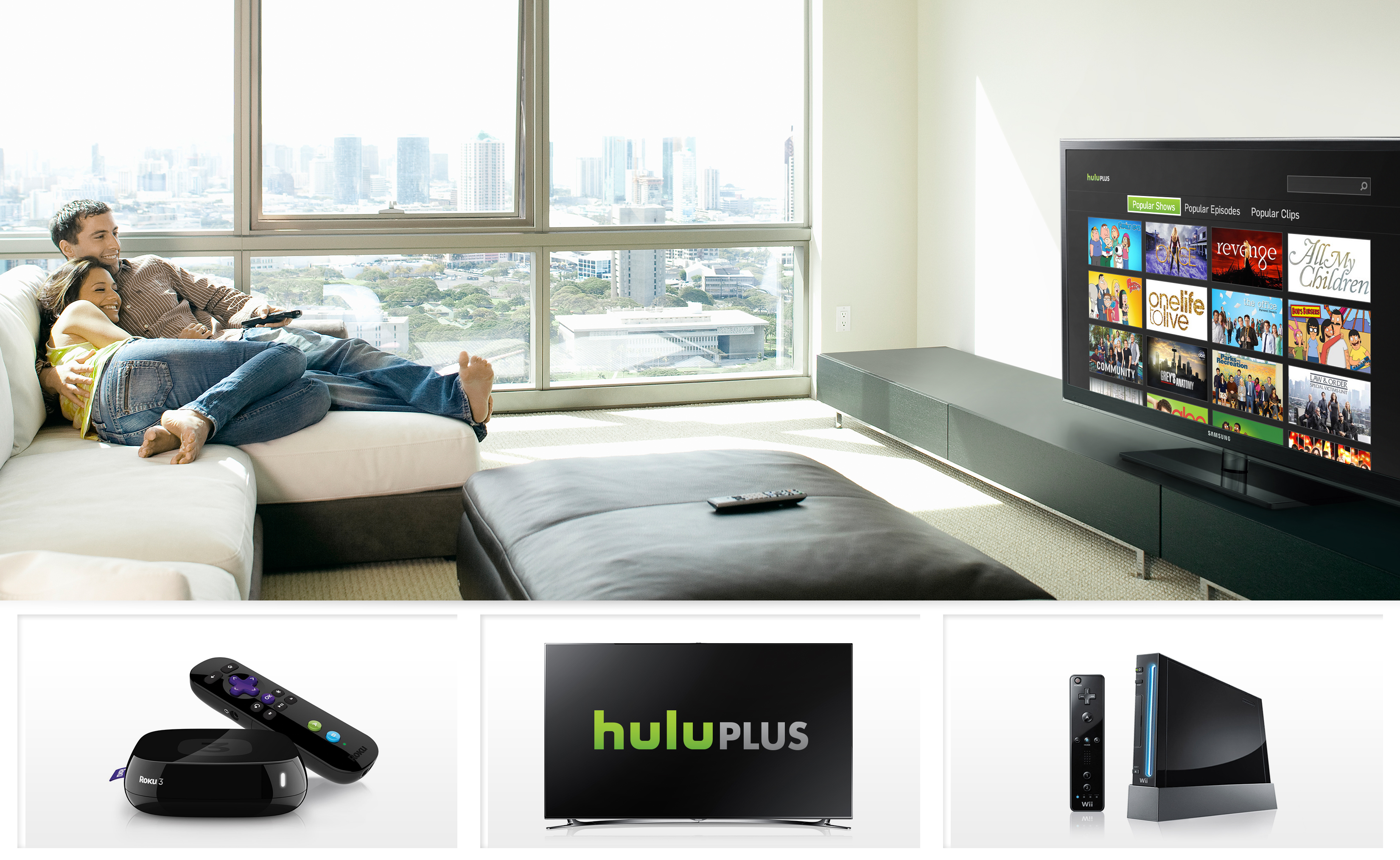 The New Hulu Plus Experience Coming to a Living Room Near You ...