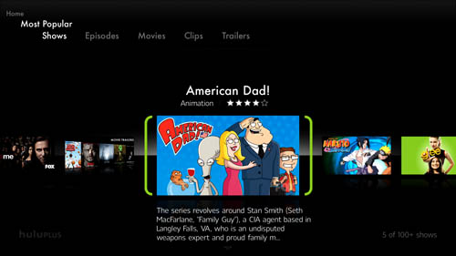 American Dad on the PS3