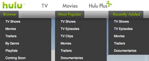 Hulu Browse