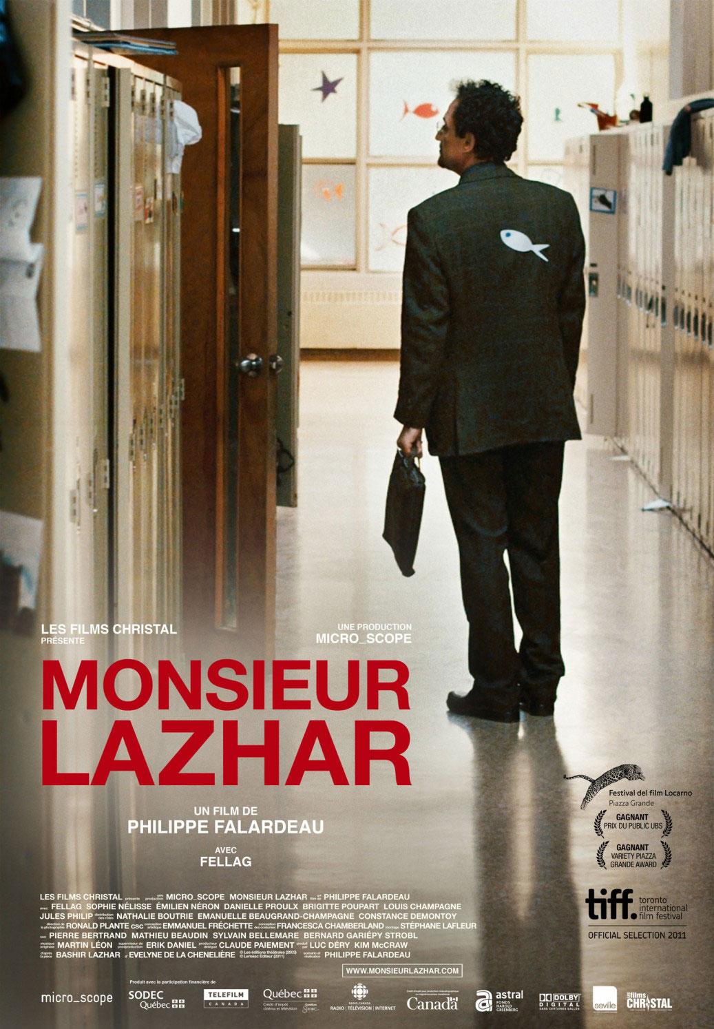 Monsieur Lazhar / Les Films Christal présente Movie Poster