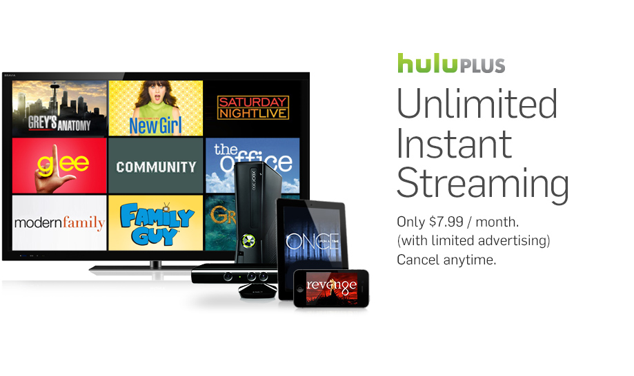 Watch TV and movies via Xbox, PS3, Wii and more | Hulu Plus