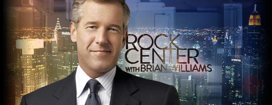 ROCK CENTER With Brian Williams - Hulu