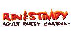 Stimpy Adult Party Cartoon